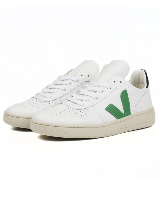 V10 LEATHER EXTRA WHITE EMERAUDE