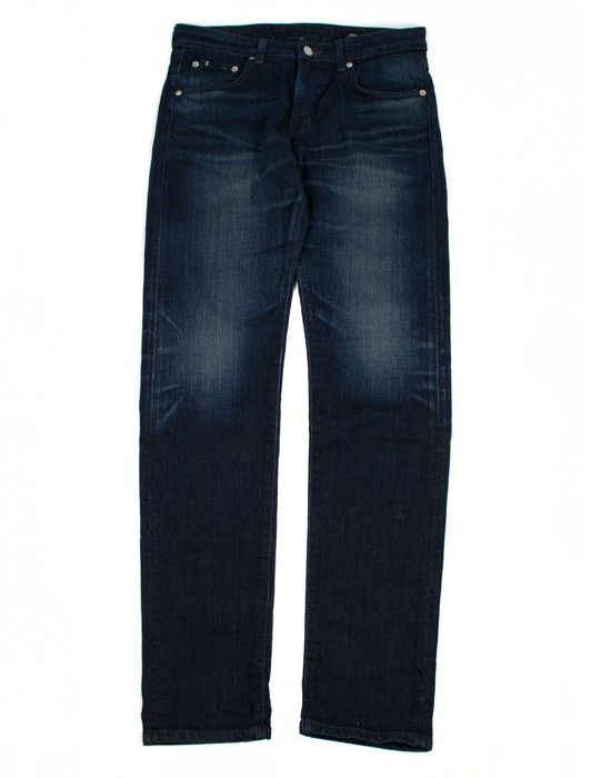 E-MODERN REGULAR TAPERED BLUE JAPANESE STRETCH DENIM