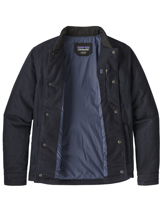 M'S RECYCLED WOOL BOMBER JKT