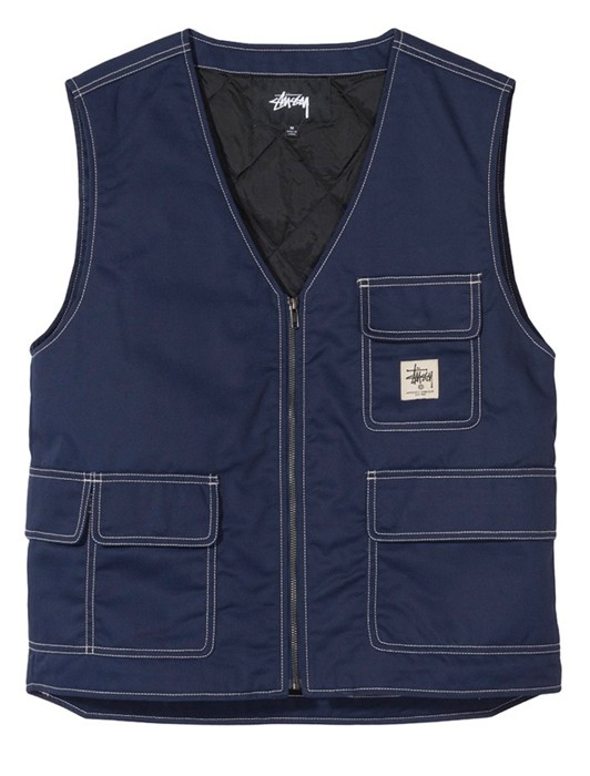 POLY COTTON WORK VEST