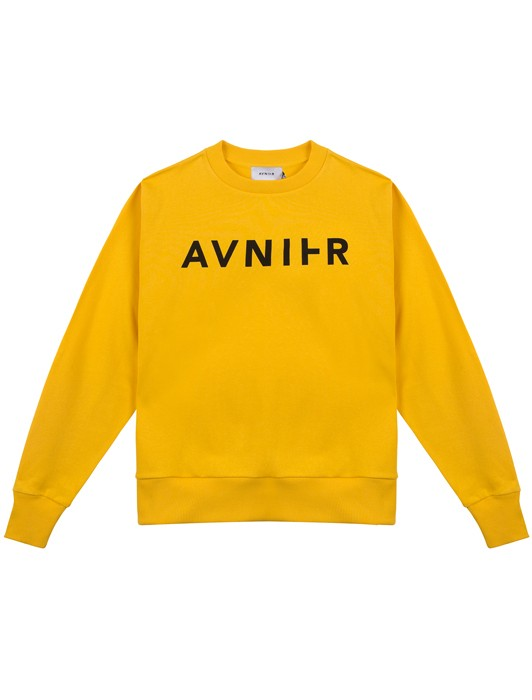 BASIC YELLOW CREW NECK