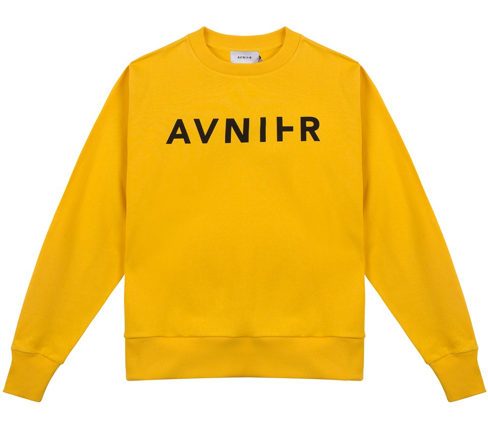 BASIC YELLOW CREWNECK