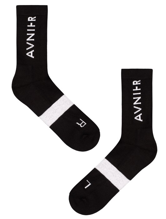 LINE BLACK SOCKS