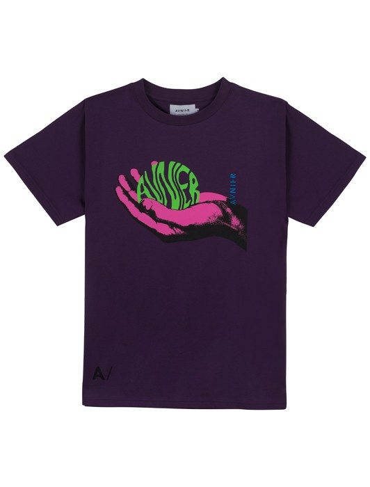 WAVE AND PURPLE TEE