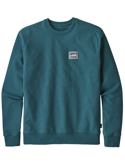 SHOP STICKER PATCH UPRISAL CREW SWEATSHIRT