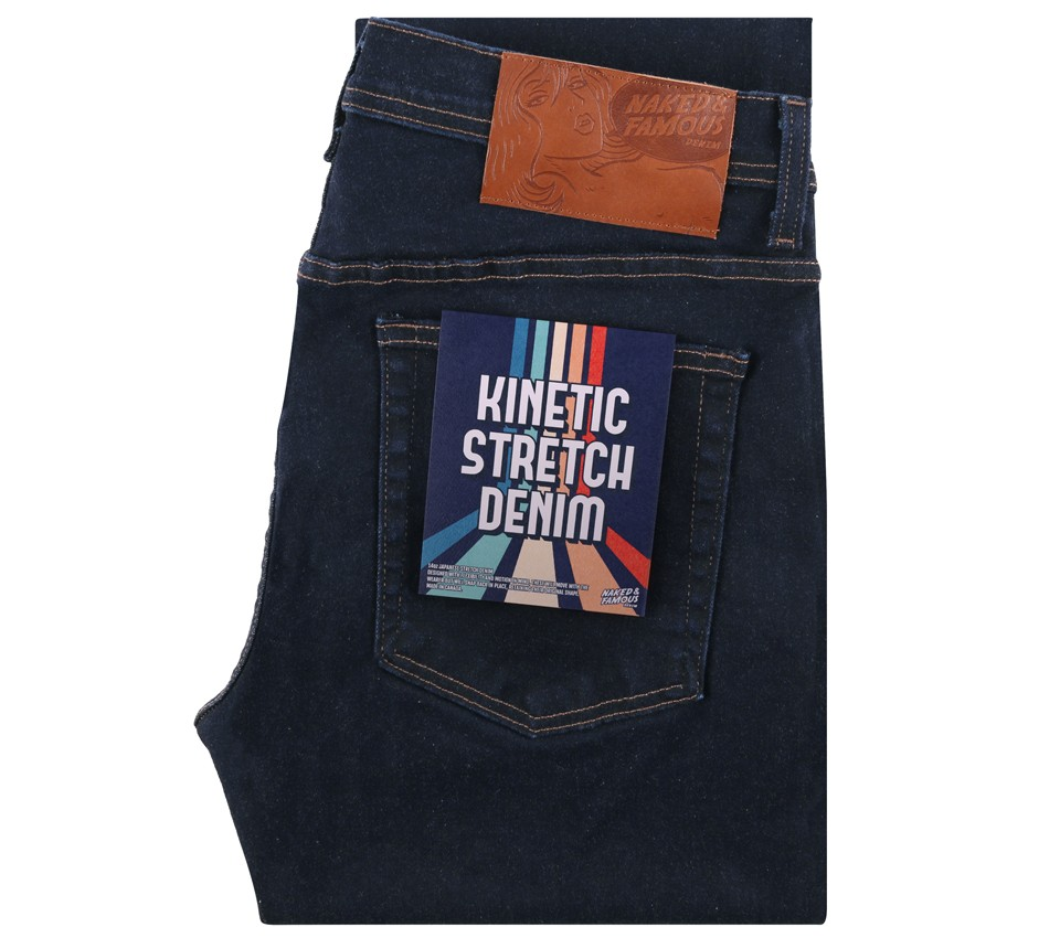 WEIRD GUY KINETIC STRECH DENIM