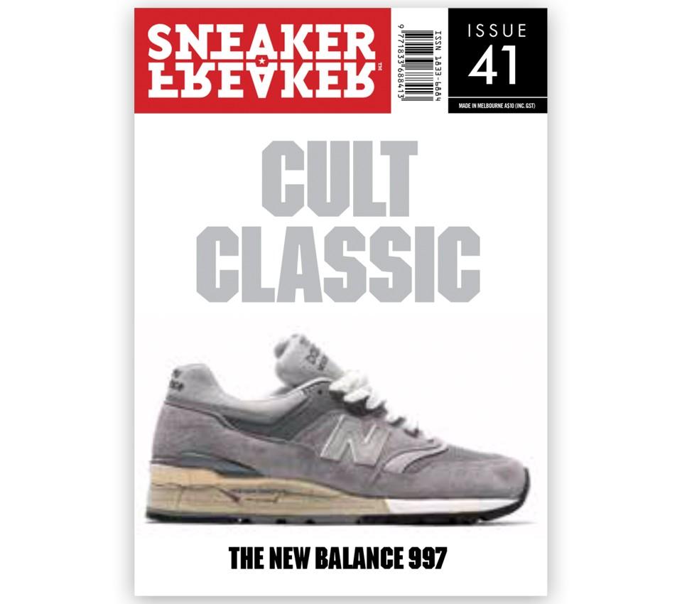 SNEAKER FREAKER MAGAZINE 41 : NB 997 COVER