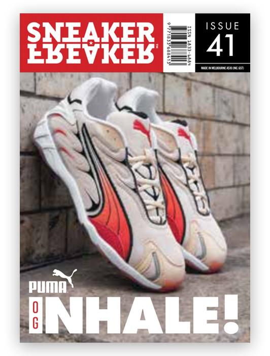 SNEAKER FREAKER MAGAZINE 41 : PUMA INHALE COVER