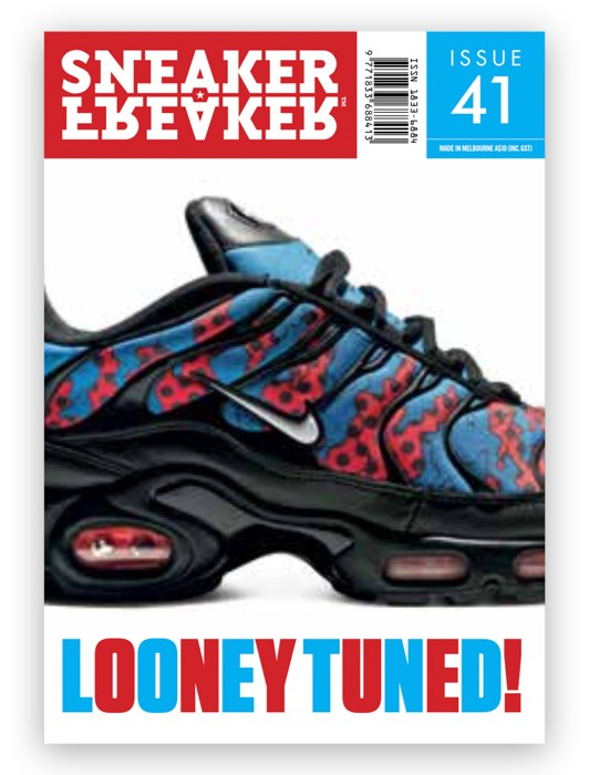 SNEAKER FREAKER MAGAZINE 41 : NIKE AIR MAX PLUS COVER