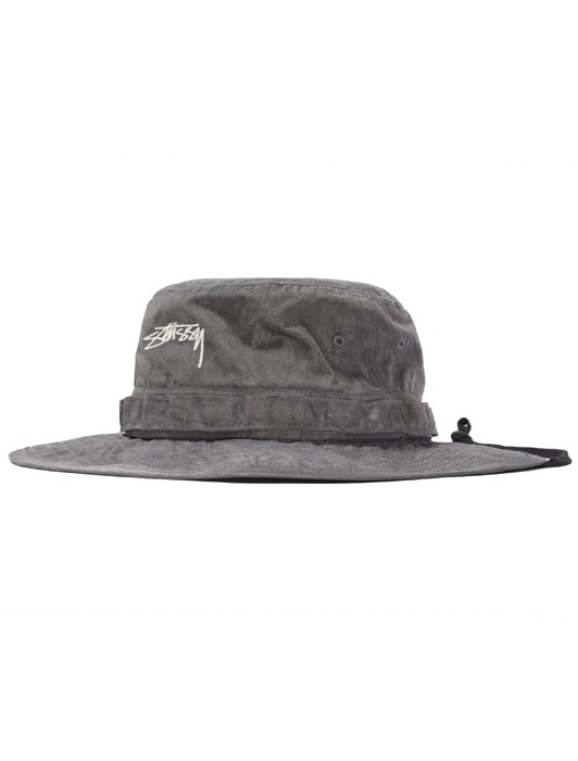 WASHED NYLON BOONIE HAT