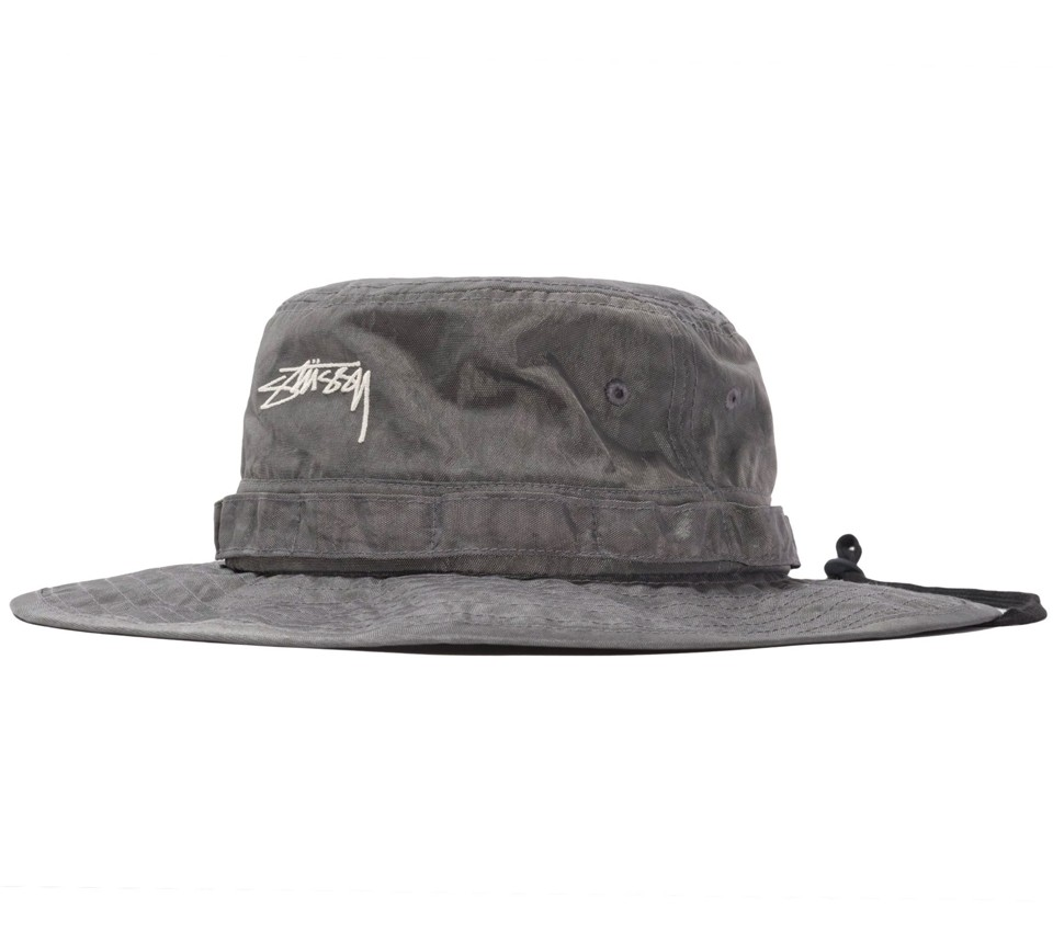 WASHED NYLON BOONIE HAT