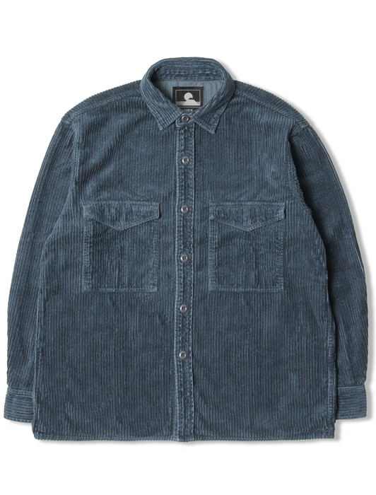 BIG SHIRT LS CORDUROY 4 RIBS COTTON