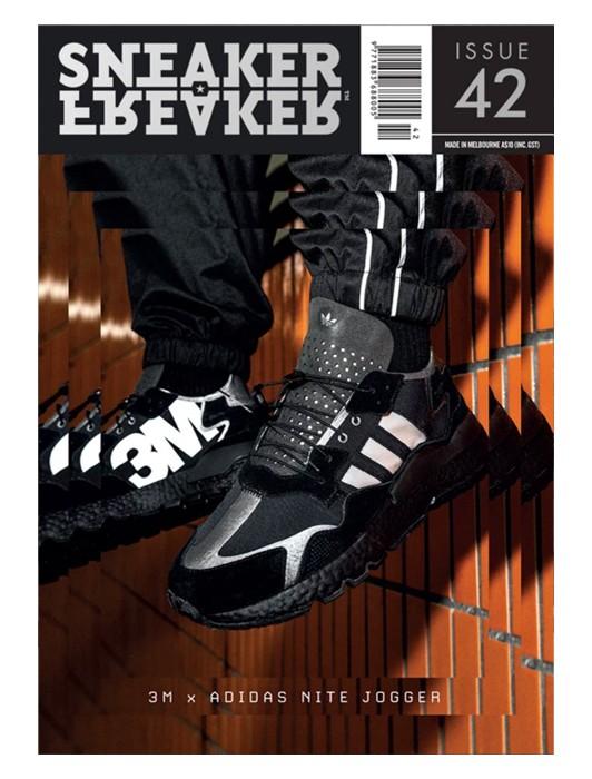 SNEAKER FREAKER MAGAZINE 42 : NITE JOGGER COVER