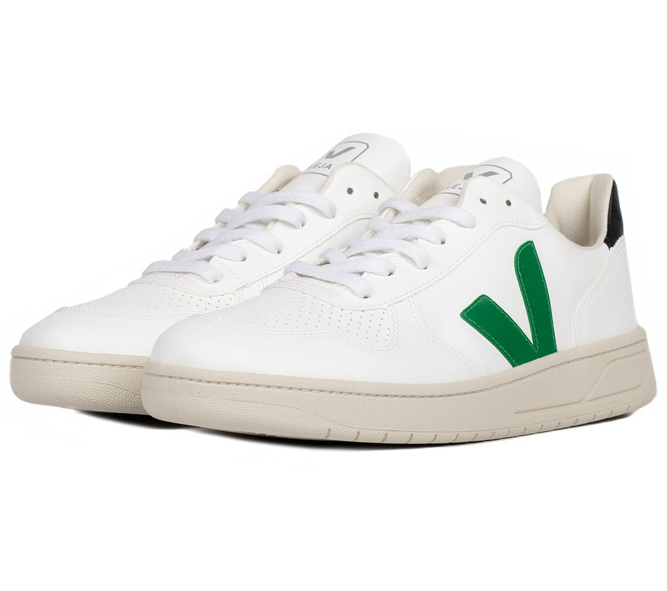 V-10 BASTILLE CWL WHITE EMERAUDE BLACK