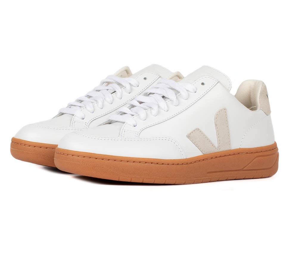 V-12 LEATHER EXTRA WHITE NATURAL NATURAL SOLE