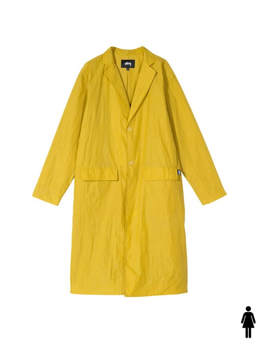 LONG LIGHT NYLON COAT