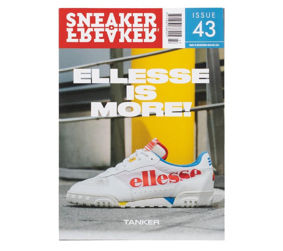 SNEAKER FREAKER MAGAZINE 43 : ELLESSE IS MORE