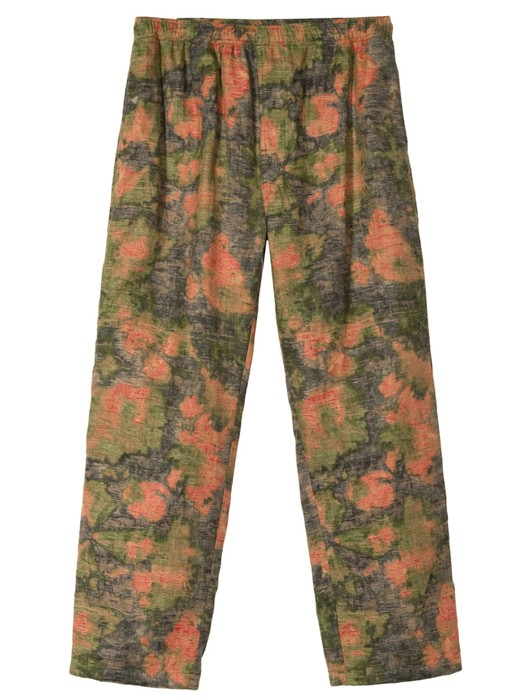 REVERSE JACQUARD RELAXED PANT