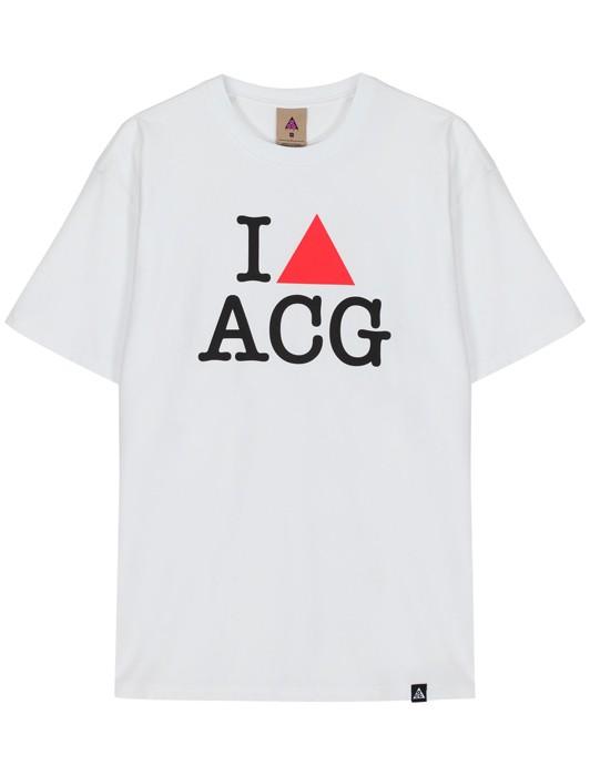 I HEART ACG SS TEE