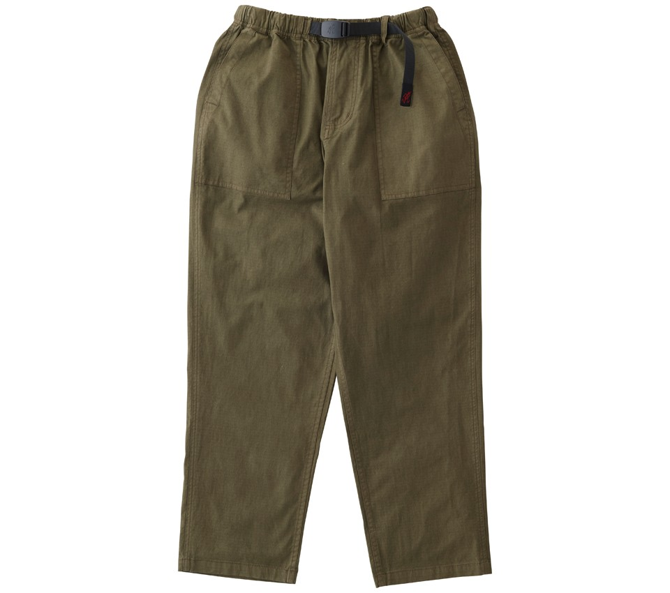RIPSTOP LOOSE TAPERED PANTS