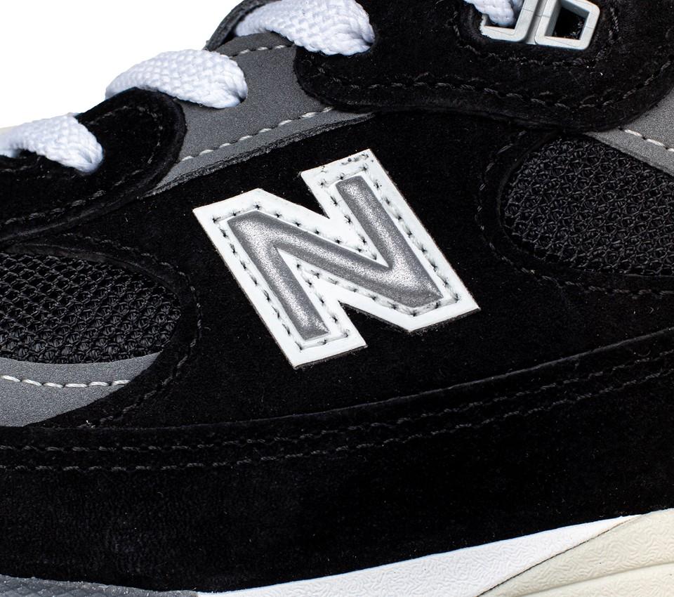 New Balance M992 EB Black/Grey Made in USA | Cultizm